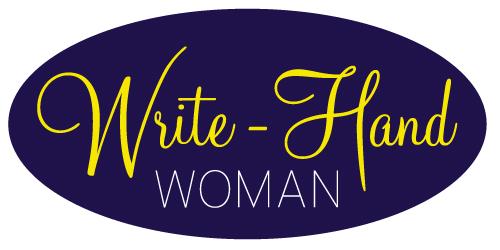 Write Hand Woman