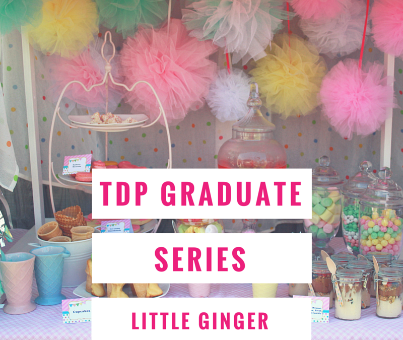 TDP Graduate Series – Little Ginger