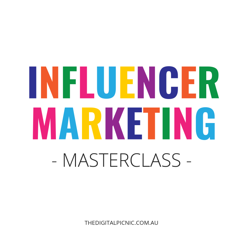 Influencer Marketing Masterclass - Social Media Training Melbourne