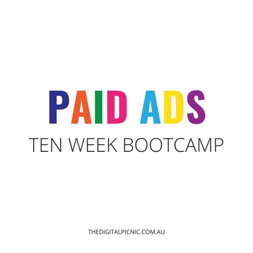 Paid Ads Bootcamp – August '20