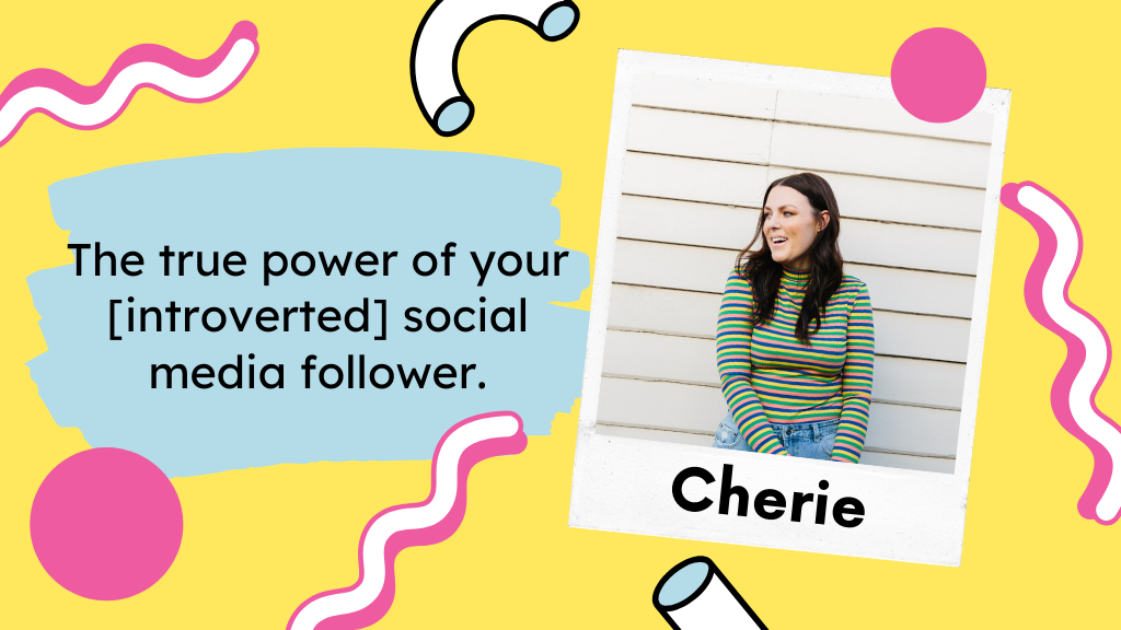 The true power of your [introverted] social media follower.