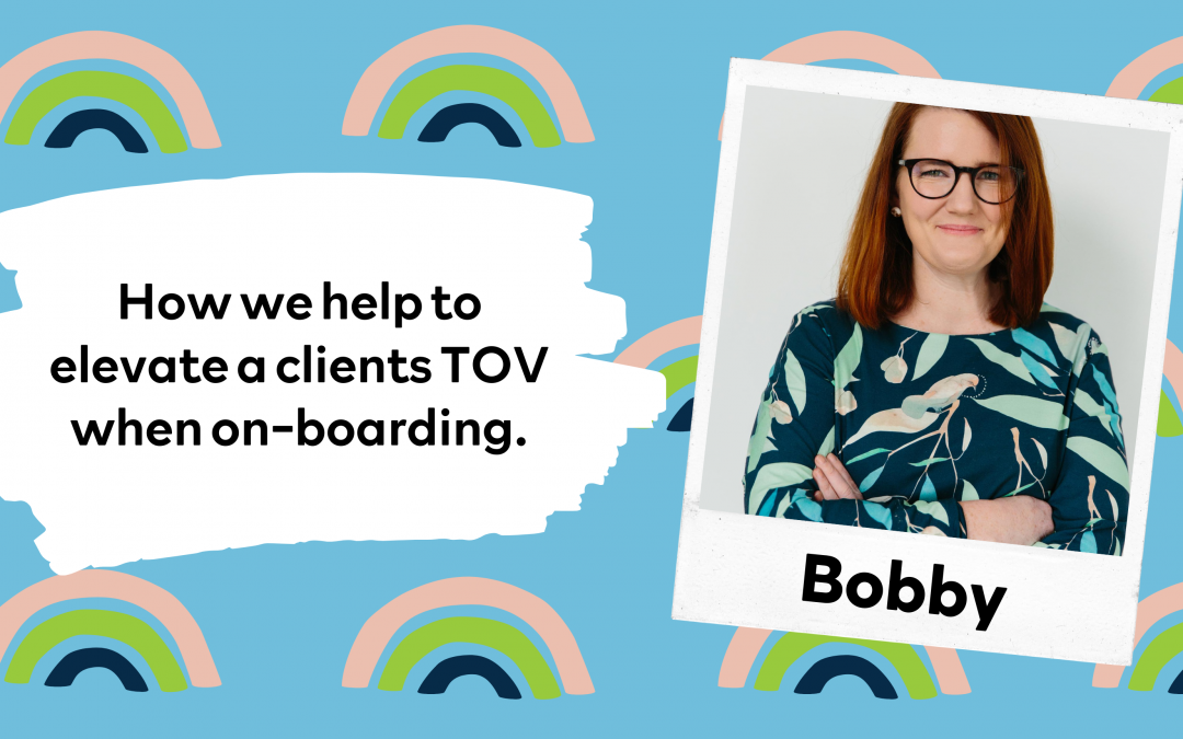 On boarding tips to help you NAIL your client's tone of voice.