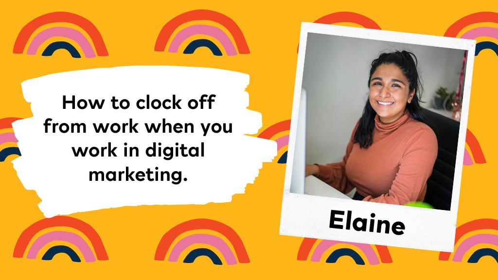 Image of Elaine, blog author
