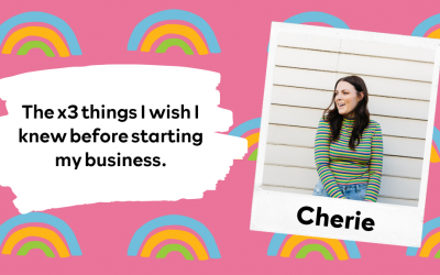 The x3 things I wish I knew before starting my business.