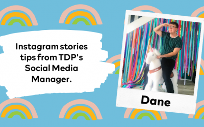 Instagram stories tips from TDP's Social Media Manager