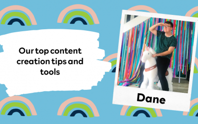 Our top content creation tips and tools