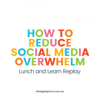 How to reduce social media overwhelm