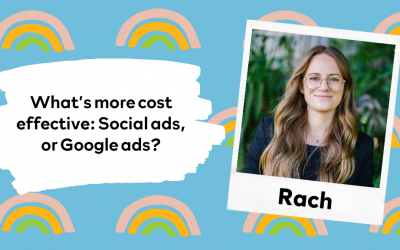 What's more cost effective; Social ads, or google ads?