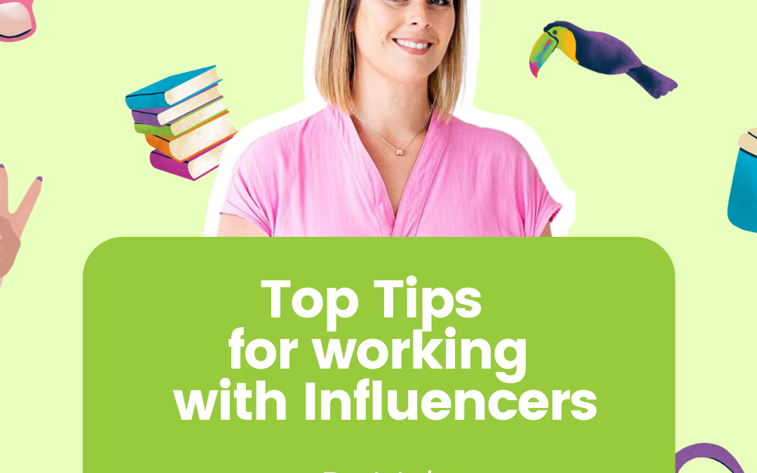 Top tips for working with Influencers