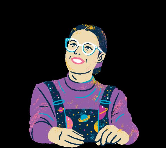 Illustration of TDP Founder, Cherie Clonan.