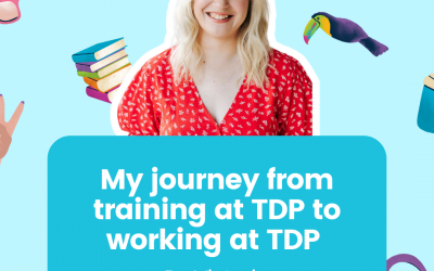 My journey from training at TDP to working at TDP